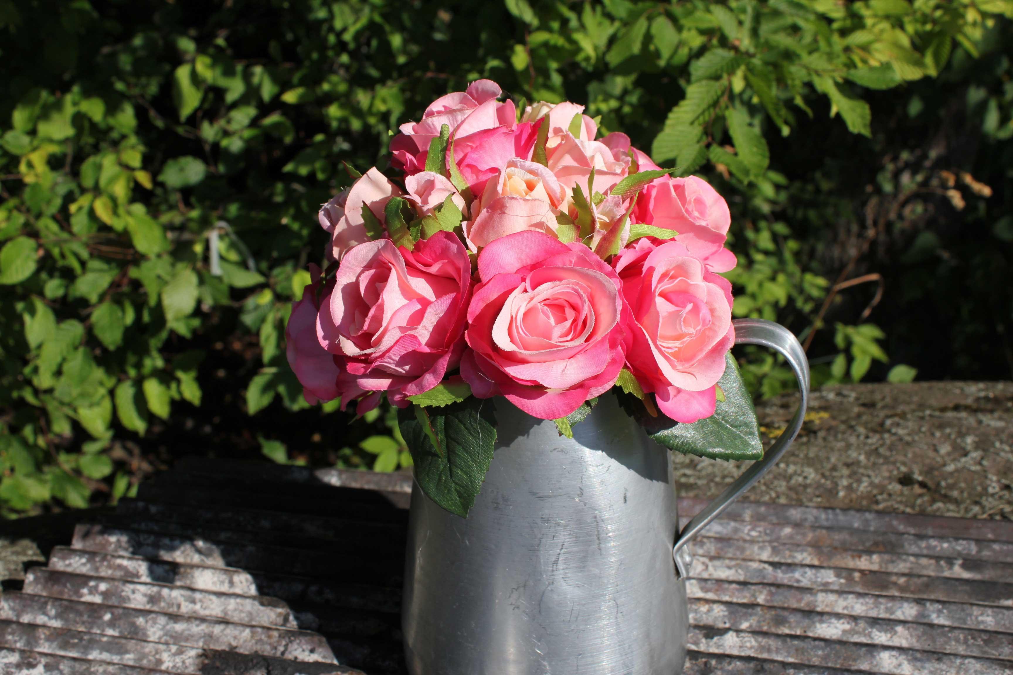 rosen bouquet wohnzopf shabby chic deko onlineshop. Black Bedroom Furniture Sets. Home Design Ideas
