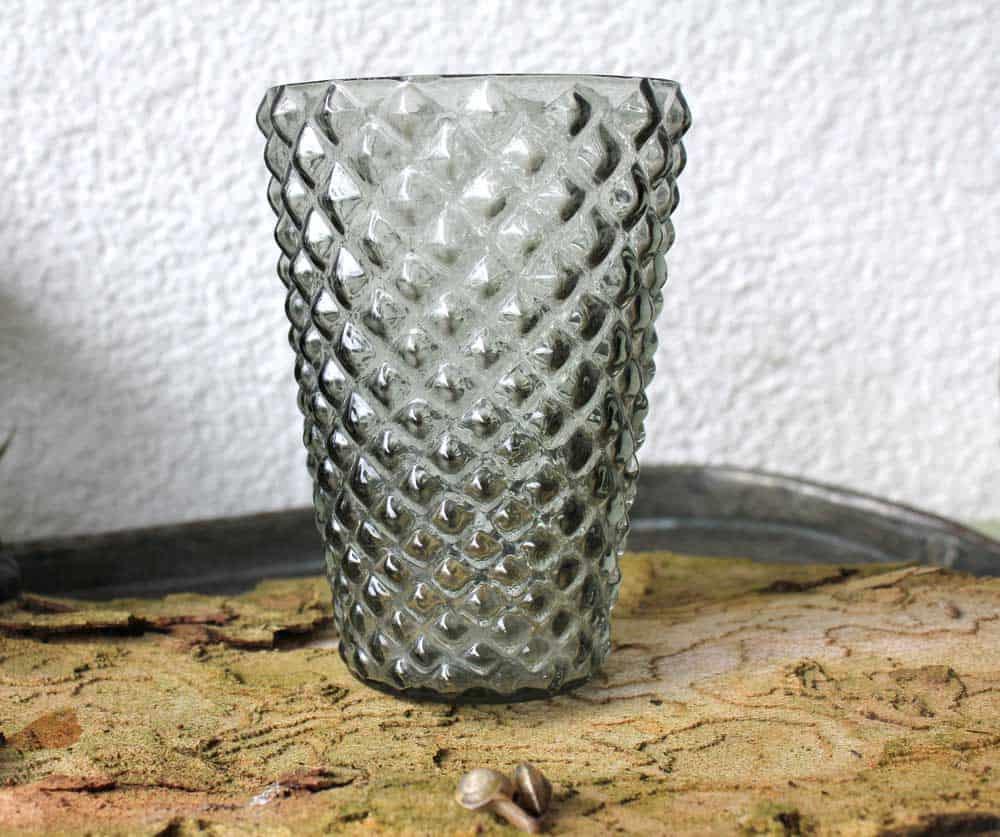 windlicht graues pickelglas wohnzopf shabby chic deko. Black Bedroom Furniture Sets. Home Design Ideas