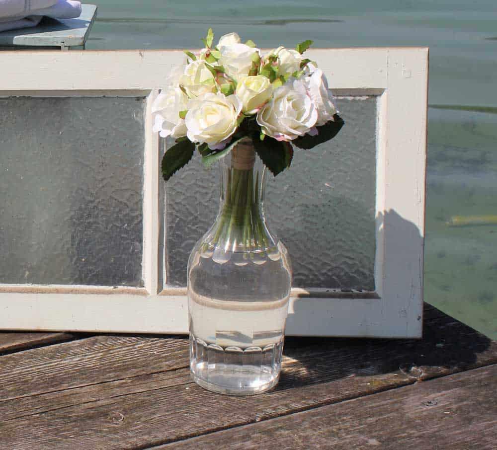 flasche geeicht 1liter wohnzopf shabby chic deko. Black Bedroom Furniture Sets. Home Design Ideas